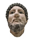 Head Bust Of Egyptian Man Isolated Royalty Free Stock Images - 28240039