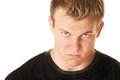 Angry Blond Man Stock Images - 28240274