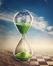 Hourglass Royalty Free Stock Image - 28242356