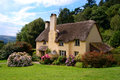 Thatched Cottage Royalty Free Stock Image - 28253886