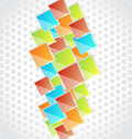 Abstract Creative Background With Colorful Square Stock Photo - 28273780
