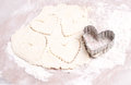 Heart Shaped Cookie Cutter Stock Image - 28274711