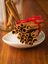 Cinnamon Sticks Stock Photography - 28274792