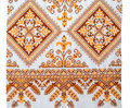 Embroidered Good By Cross-stitch Pattern Royalty Free Stock Images - 28279189