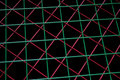 Red, Green Grids Royalty Free Stock Photo - 2839375