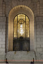 Entrance To Art Deco Building Royalty Free Stock Photography - 28310517