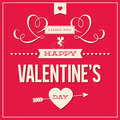 Happy Valentines Day Card Design  Royalty Free Stock Image - 28318436
