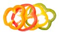 Colorful Scliced Pepper Stock Photos - 28325043