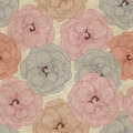 Flowery Wallpaper Background Royalty Free Stock Photo - 28341365