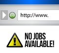 No Jobs Available Stock Images - 28355434