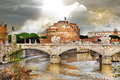 Roman Landmarks, St Angelo Stock Images - 28355904