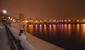 River Promenade In Donetsk City Stock Photography - 28356732