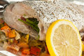 Fresh Raw Trout Stock Images - 28358834