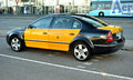 Taxi In Barcelona Royalty Free Stock Photography - 28387157