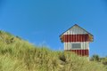 Hut In The Dunes Royalty Free Stock Photo - 28387525