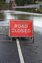 Flooded Road Royalty Free Stock Photos - 2840928