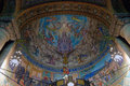 Fresco Mosaic In Church Stock Image - 28402781