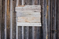 Old Wooden Empty Bulletin Board Royalty Free Stock Photo - 28422335
