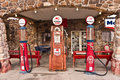 Vintage Route 66 Gas Station Royalty Free Stock Photography - 28427077