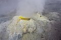 Sulfur Fumarole In Active Volcanic Crater Royalty Free Stock Photos - 28434238