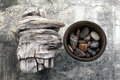 Driftwood And Stones Stock Photography - 28435102