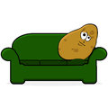 Couch Potato Stock Photos - 28436713