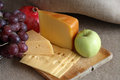 Cheese And Fruits Royalty Free Stock Image - 28443966