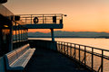 Ferryboat And Olympic Mountains Stock Photos - 28452273