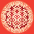 Flower Of  Life Seed Mandala Royalty Free Stock Photography - 28462227