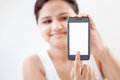 Indian Girl With Mobile Smart Phone 5 Royalty Free Stock Images - 28465579