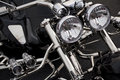 Motorcycle Headlight Stock Images - 28465694
