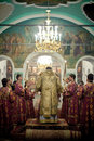 Orthodox Liturgy With Bishop Mercury In Moscow Stock Images - 28467534