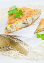 Mushroom Pie Slices, Selective Focus Royalty Free Stock Photos - 28471268