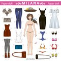 Paper Doll Royalty Free Stock Photography - 28473307