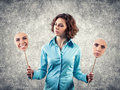 Two Masks Stock Images - 28486794