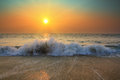Sunset Over Sea Stock Images - 28491914