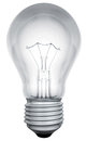 Standard Light Bulb Template Royalty Free Stock Images - 28492409