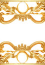 Abstract Golden Border Stock Image - 2852881