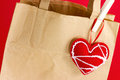 Gift Paper Bag Royalty Free Stock Photo - 28502725