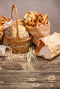 Composition With Bread And Rolls Stock Photos - 28516633