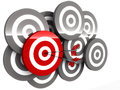 Right Target Royalty Free Stock Images - 28526789