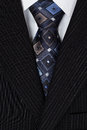 White Shirt And Blue Tie Men Suit Stock Image - 28532811