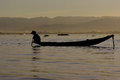 Fisherman Of Inle Lake Stock Images - 28543594