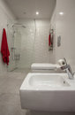 Cloudy Home - Bathroom Royalty Free Stock Images - 28554569