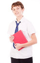 Student Holding A Book Royalty Free Stock Photo - 28558105