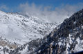 View To The Mountains From Snowbird Ski Resort In Utah, USA Stock Photo - 28560520