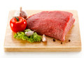 Fresh Raw Beef On Cutting Board Stock Image - 28562391