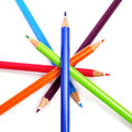 Crayon Pencils Royalty Free Stock Image - 28562516