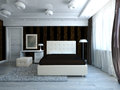 Modern Bedroom Stock Photos - 28563973