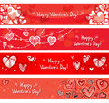 Valentines Banners Royalty Free Stock Image - 28565506